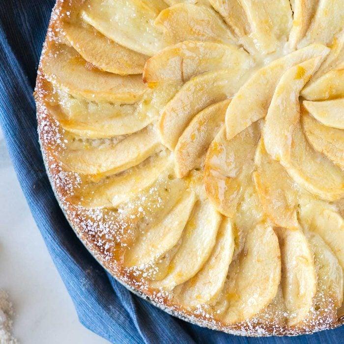 apple marzipan cake