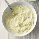 Asiago Mashed Cauliflower