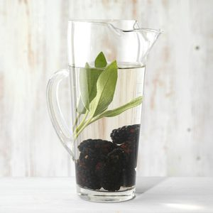 Blackberry and Sage Infused Water