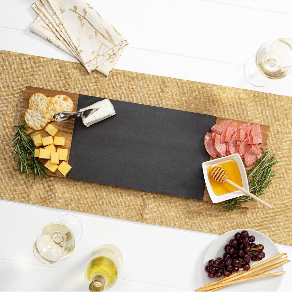 Cheese and Charcuterie Serving Board