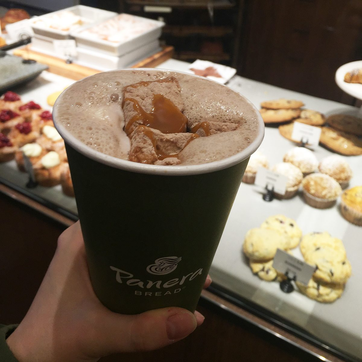Panera hot chocolate