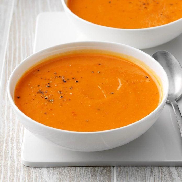 Runner Up: Golden Butternut Squash Soup