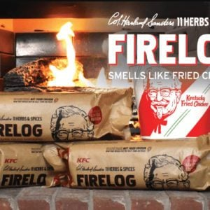 KFC Is Selling a Log That Smells Like Fried Chicken