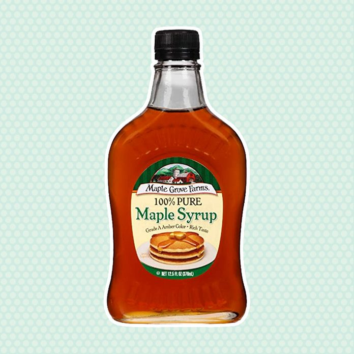 sugar alternatives Maple Grove Farms Pure Syrup