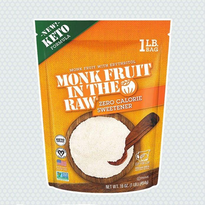 sugar alternatives Monk Fruit Raw Keto Certified Erythritol