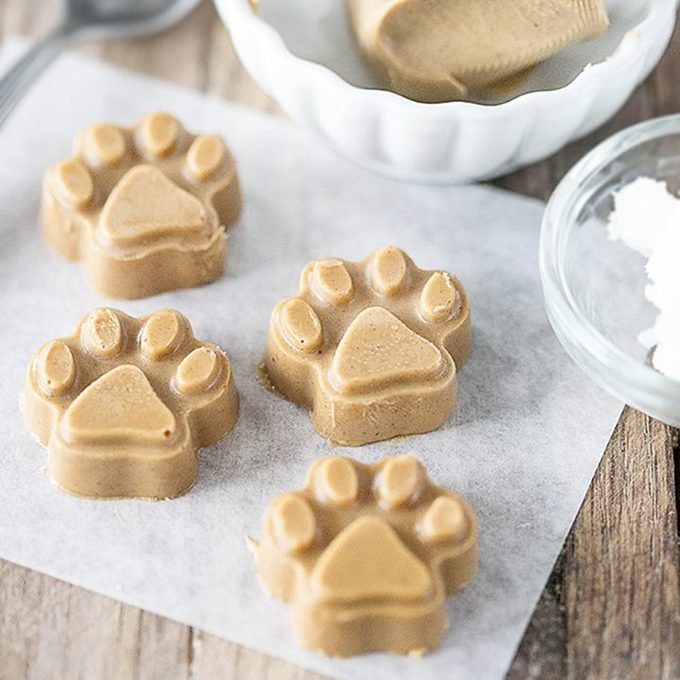 Peanut Butter Coconut Oil Treats