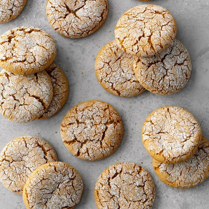 Runner Up: Powered-Up Molasses Cookies