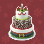 Sam's Club Now Has a Three-Tier Santa Unicorn Cake