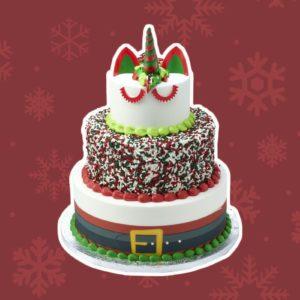 sam's club santa unicorn cake