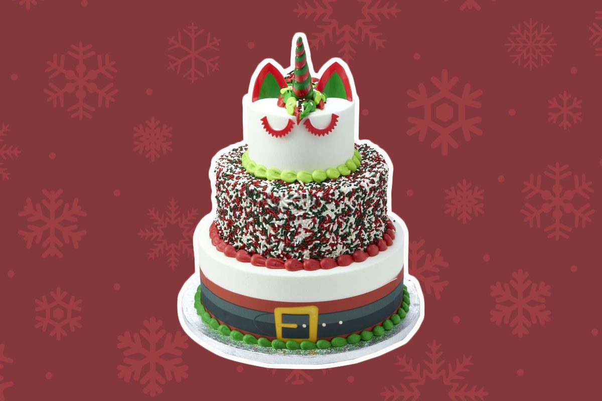 sam's club santa unicorn cake