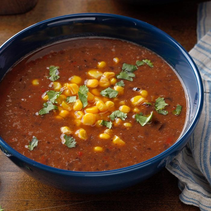 Slow-Cooked Black Bean Soup