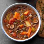 Slow-Cooked Vegetable Wild Rice Soup