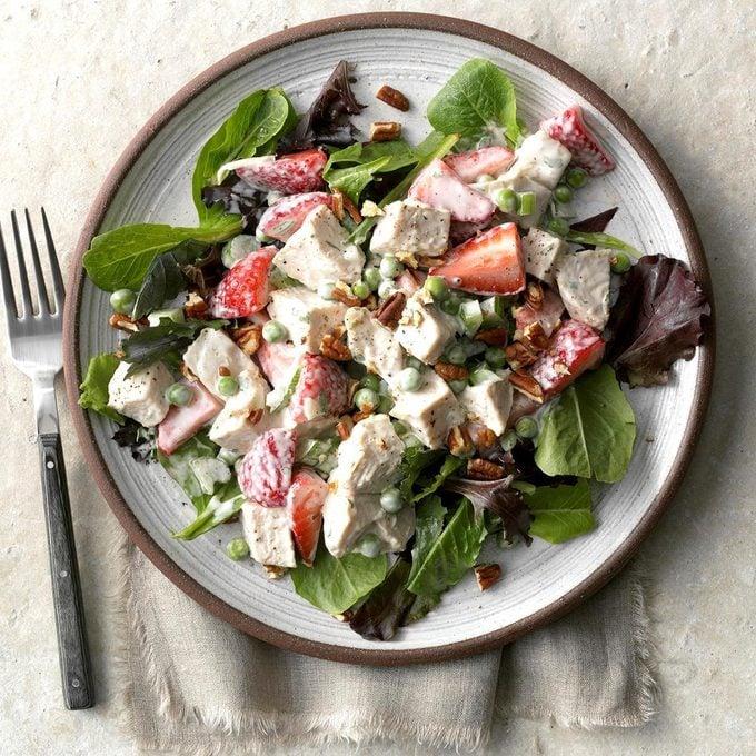 Strawberry Tarragon Chicken Salad