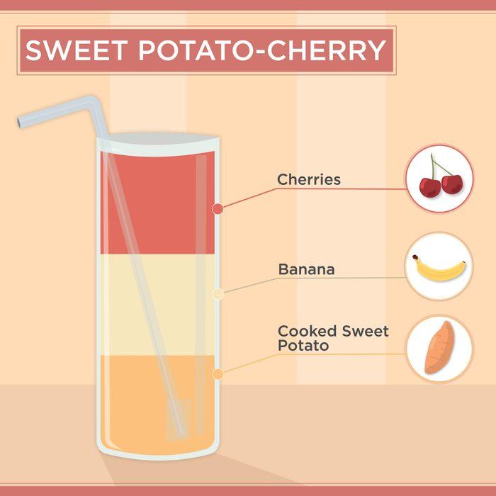 Sweet Potato-Cherry Smoothie Recipe