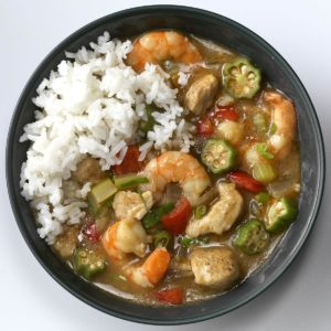 Turkey Shrimp Gumbo