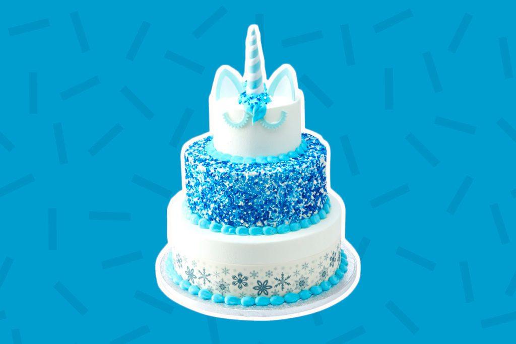 7596bb5fff Sam s Club Now Has a Three-Tier Santa Unicorn Cake