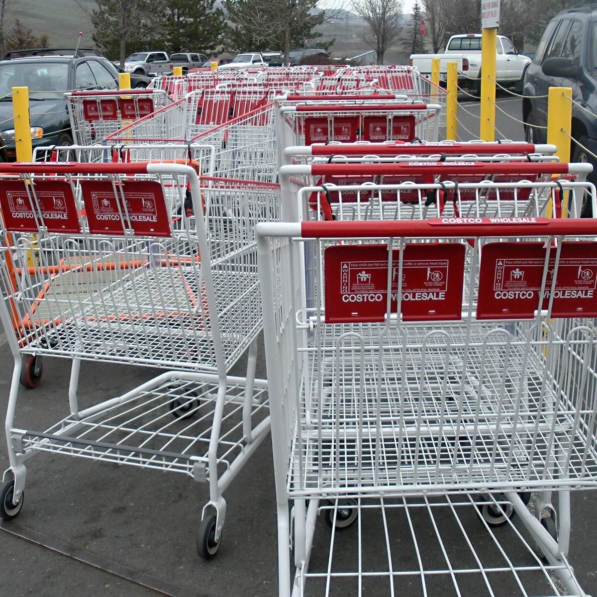 Carts at Costco