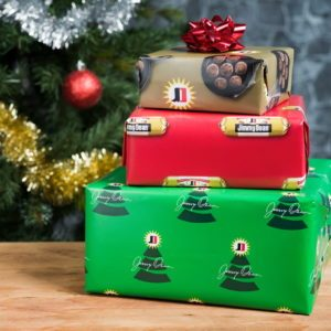 Jimmy Dean's Sausage-Scented Wrapping Paper Will Make Your Gifts Smell Like Breakfast