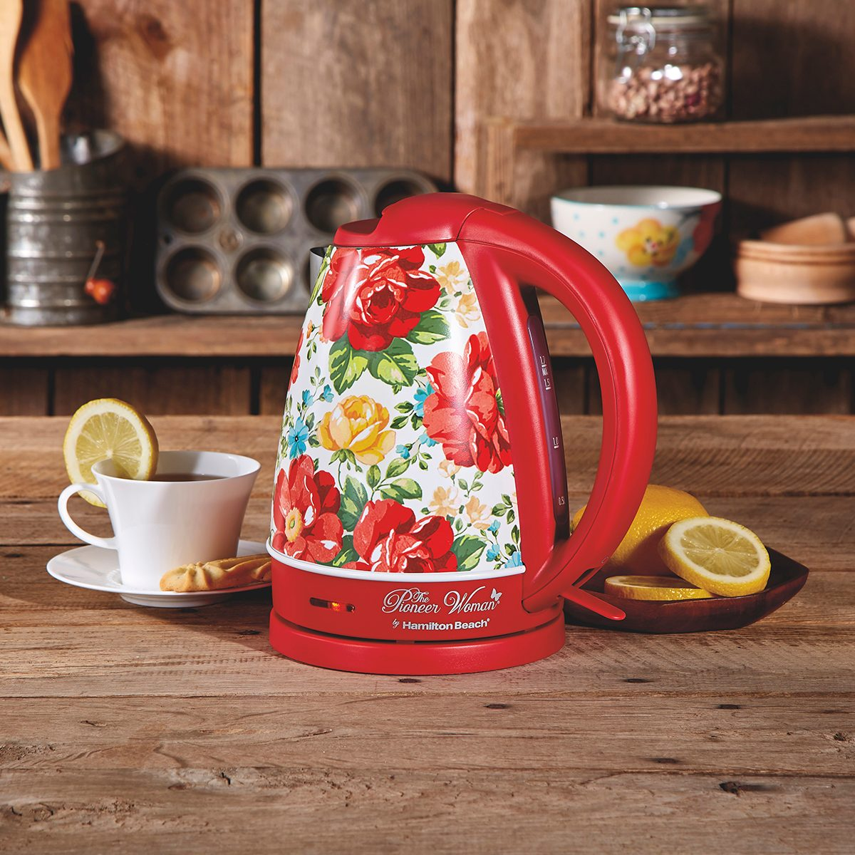 1.7 Liter Electric Kettle (Red)