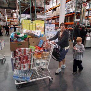 Costco shopper