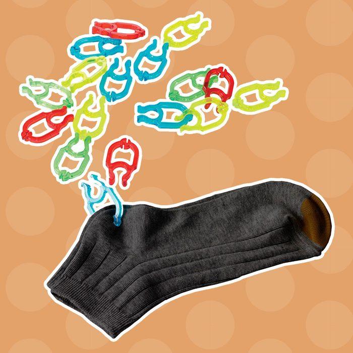 Sock clips