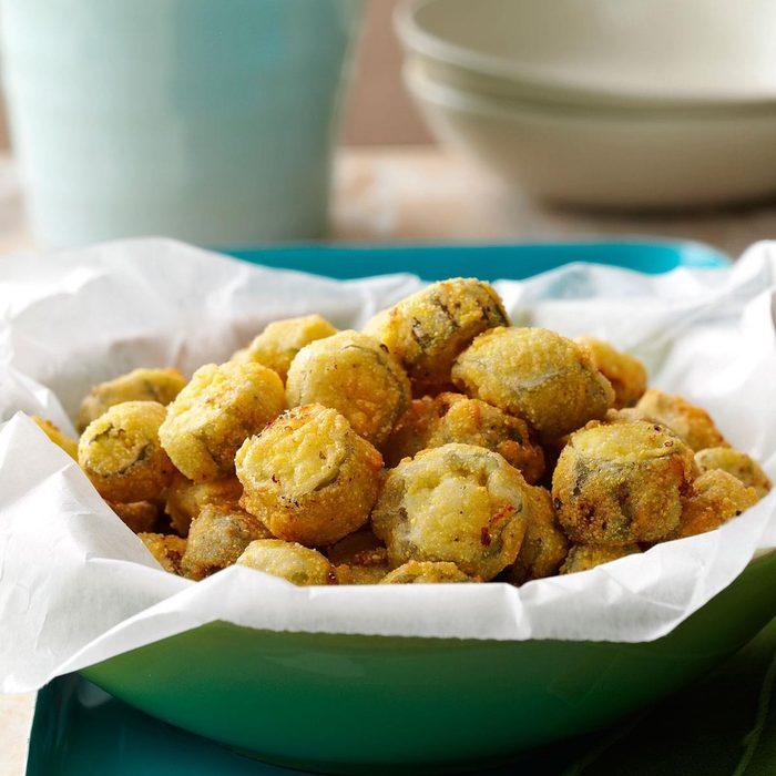 southern fried okra