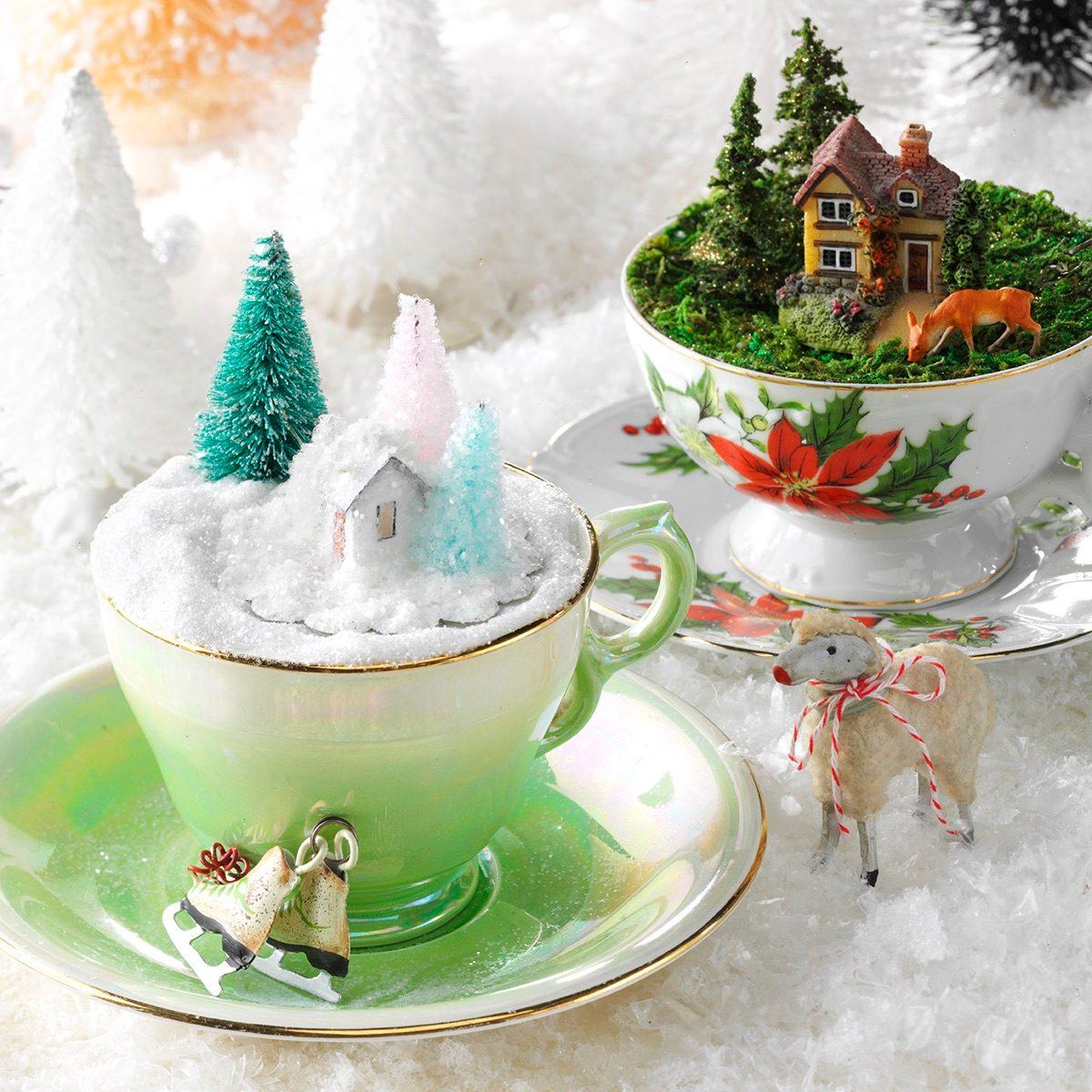 teacup display