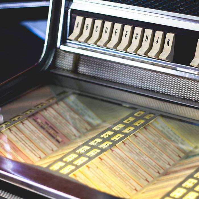 Vintage Jukebox Selections Angled