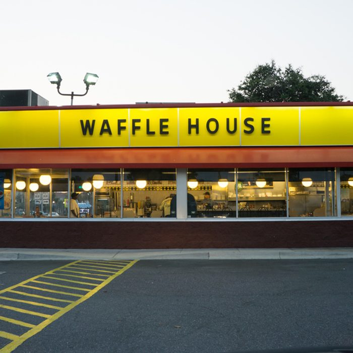 A Waffle House in Jacksonville.