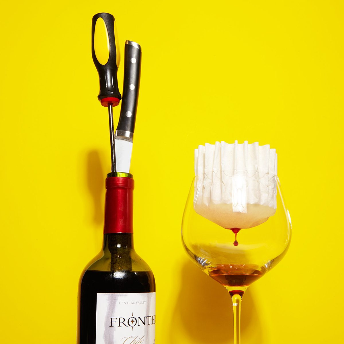 6 Genius Ways to Open a Wine Bottle Without a Corkscrew