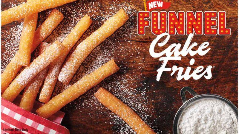 funnel cake fries at burger king