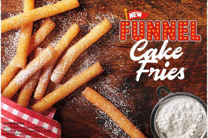 funnel cake fries at burger king