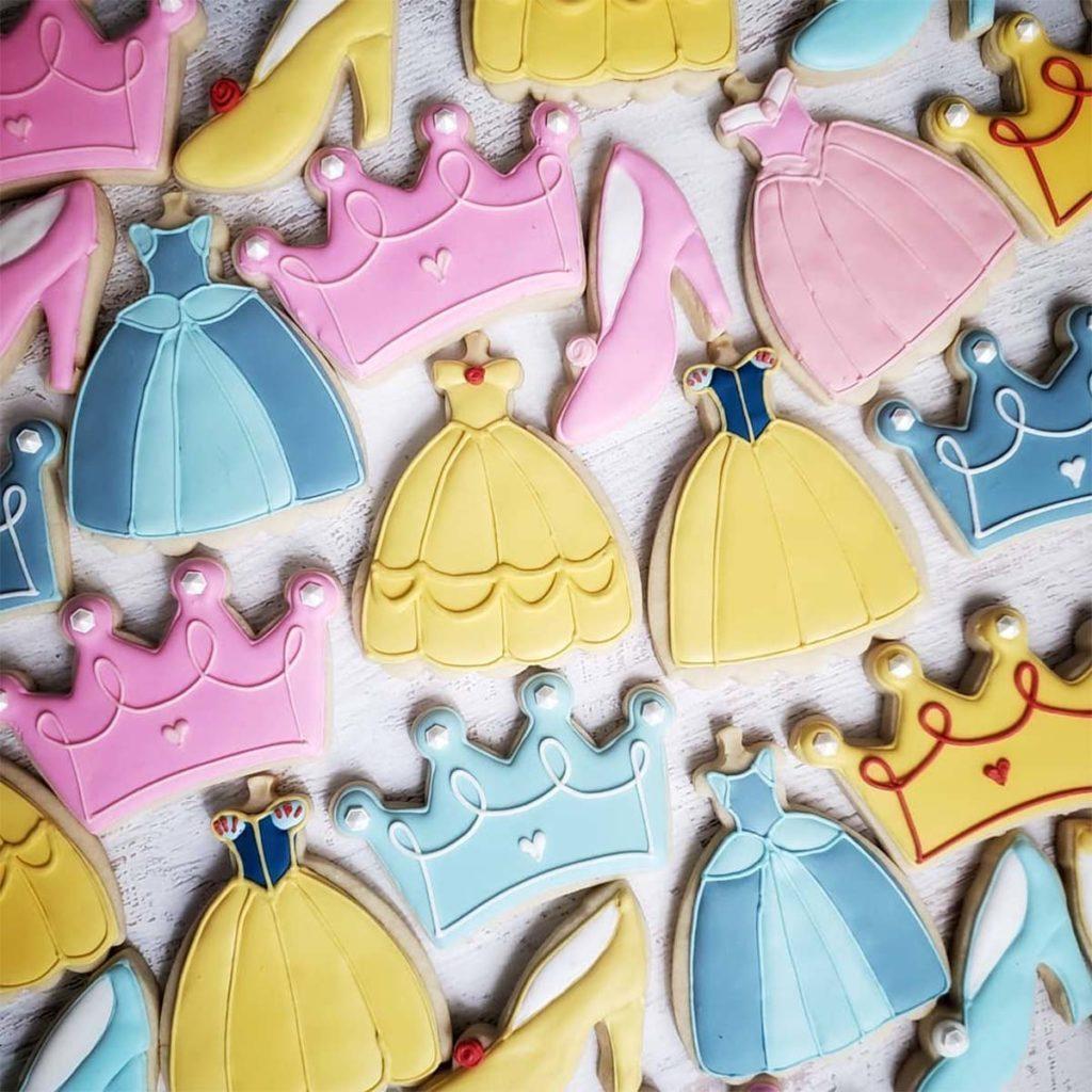 instagram cookies, princess