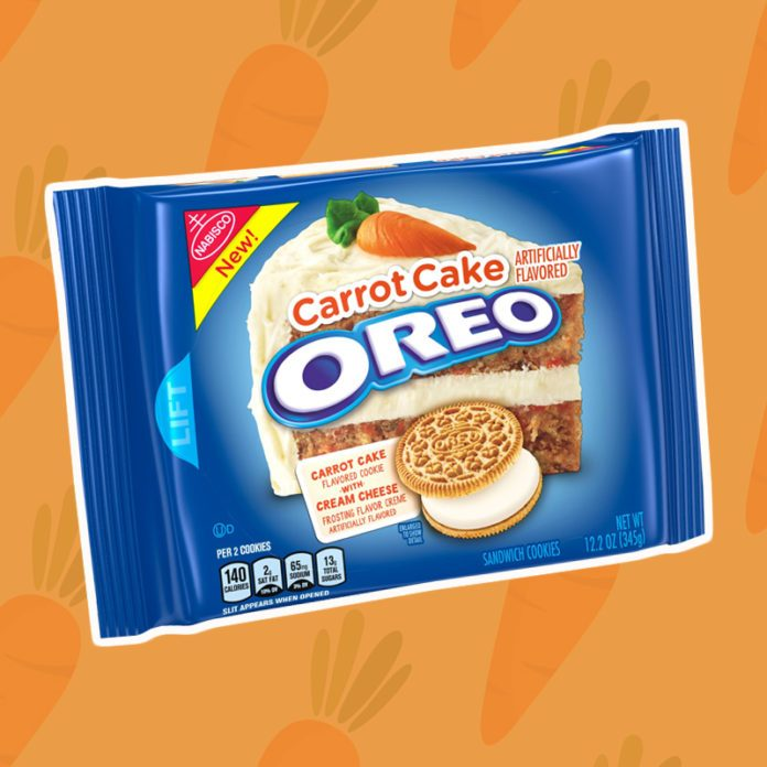 Drop Everything—Carrot Cake Oreos Are Finally BACK!