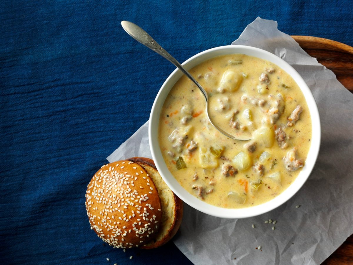 Cheeseburger Soup 2832