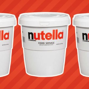 Costco Is Selling 7-Pound Tubs of Nutella