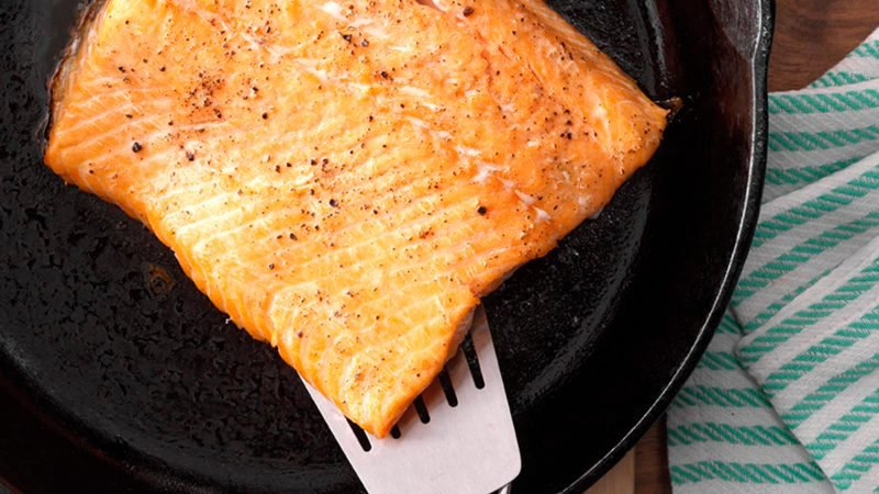 How to Make the Best-Ever Salmon in a Cast-Iron Skillet