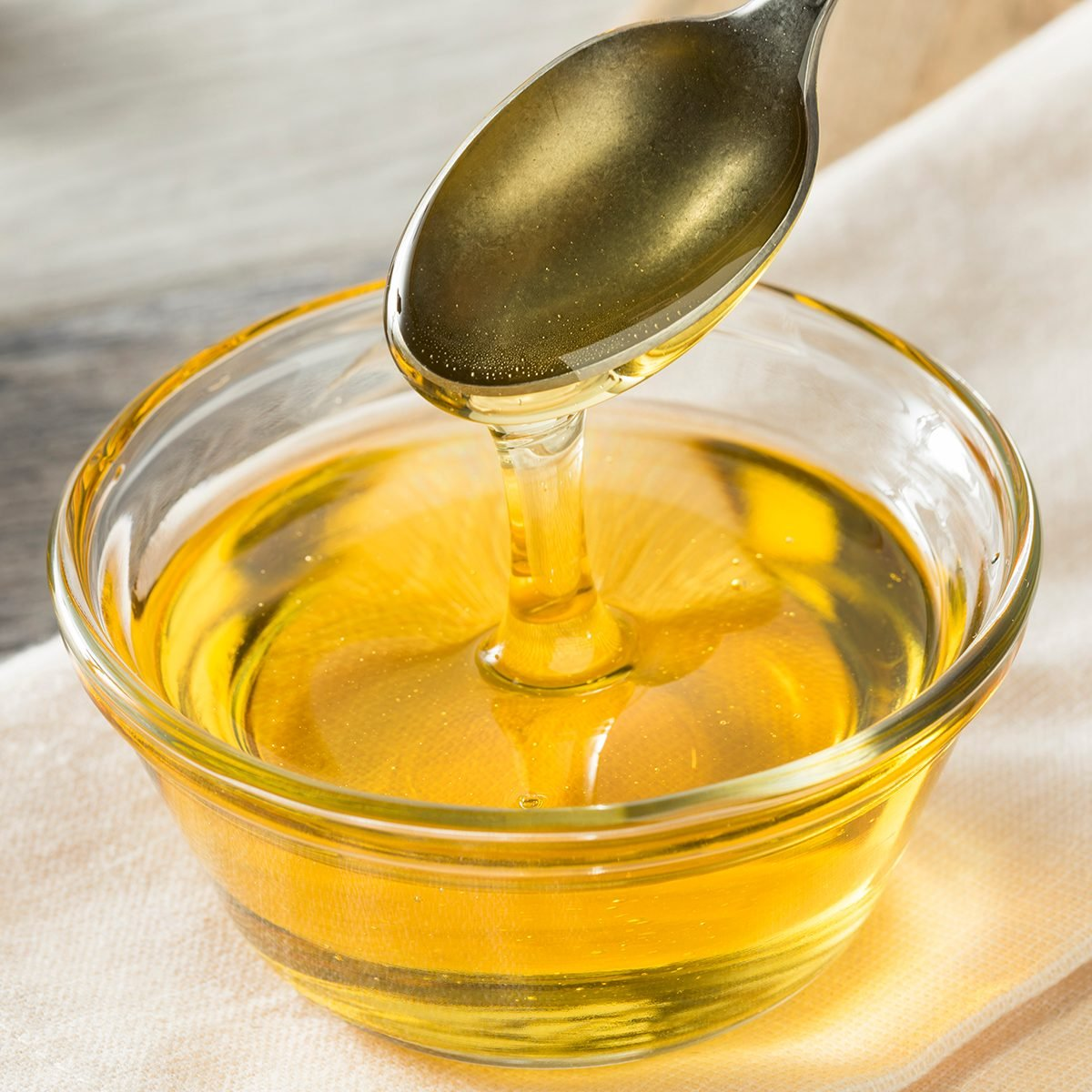 Raw Organic Sweet Light Agave Syrup in a Bowl