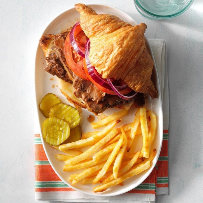 Gourmet Barbecue Beef Sandwiches