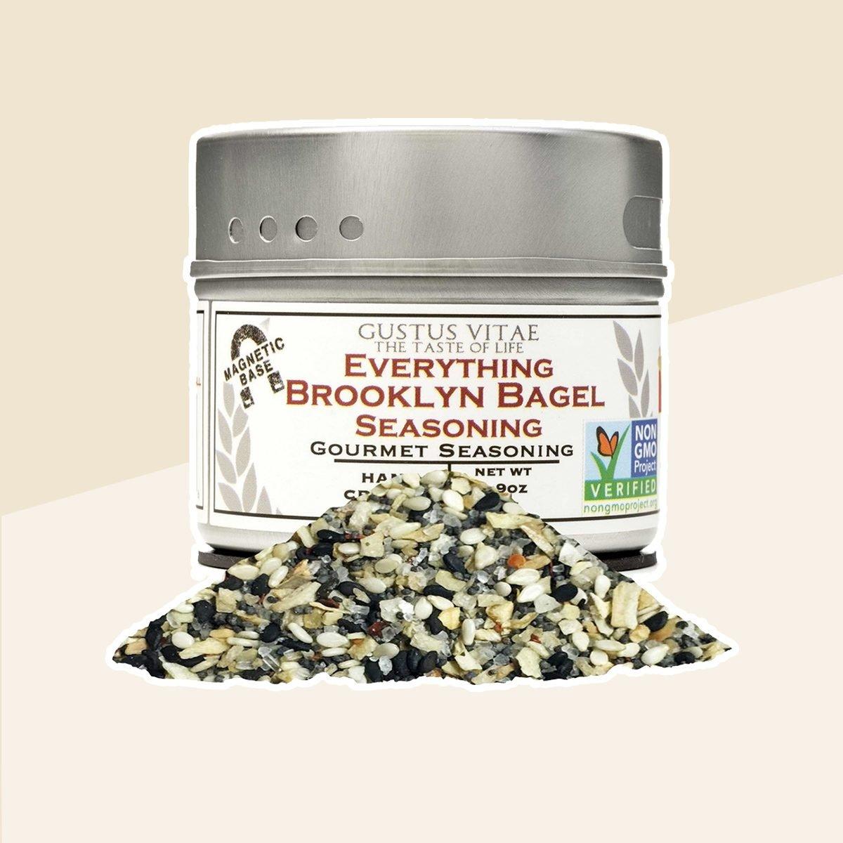 Gustus Vitae's Everything Brooklyn Bagel Seasoning