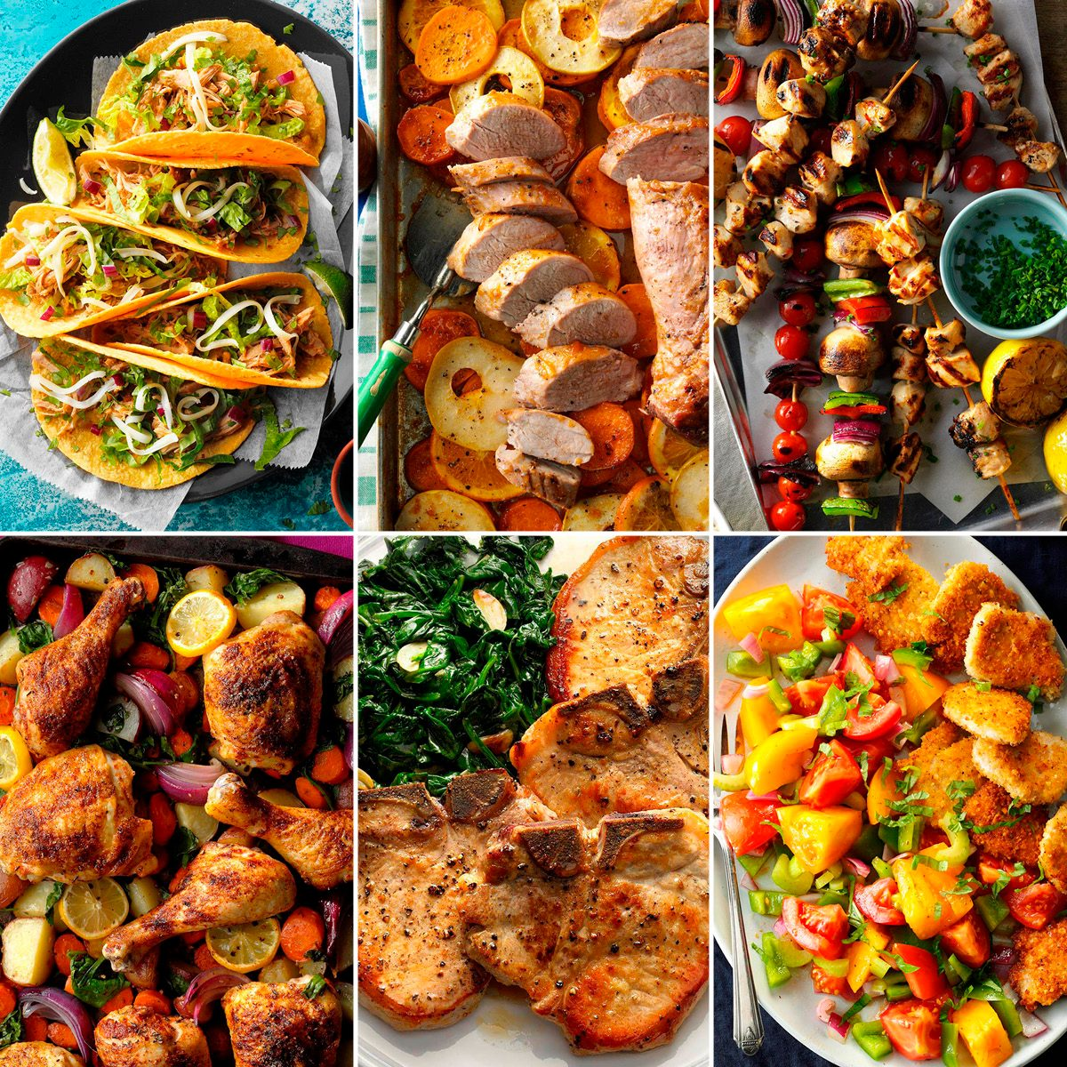 Here's a Healthy Dinner for Every Single Day This Year