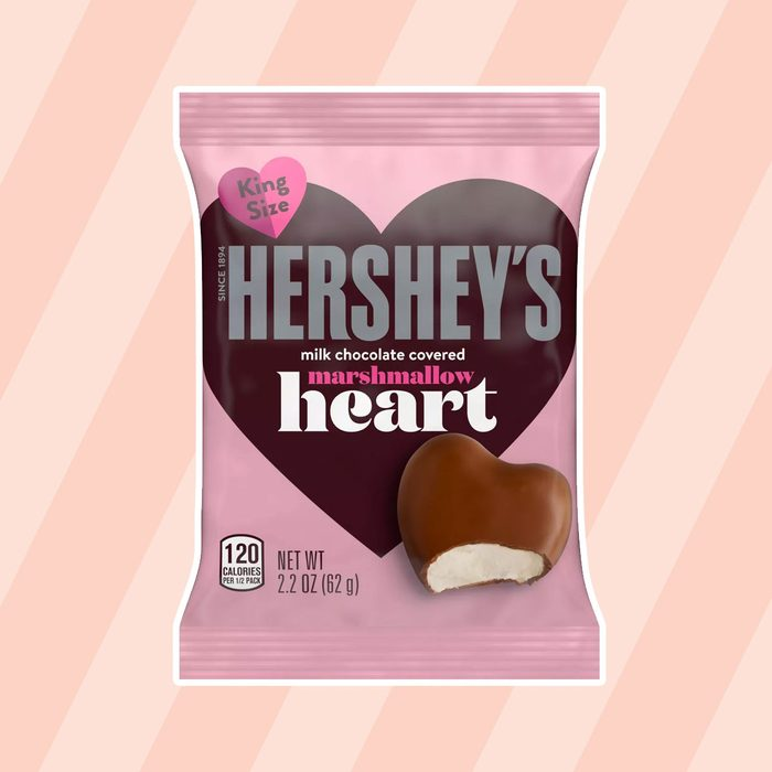 Hersheys Milk Chocolates Covered Marshmallow Hearts