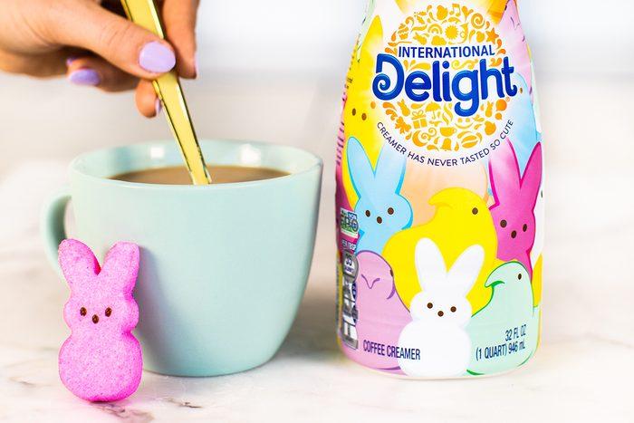 International Delight Peeps coffee creamer