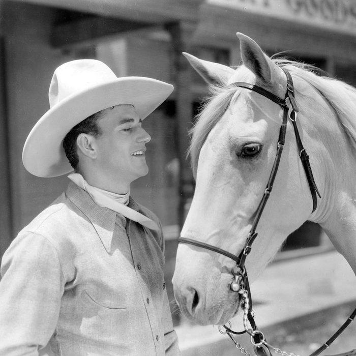 John Wayne Cowboy Ride Him