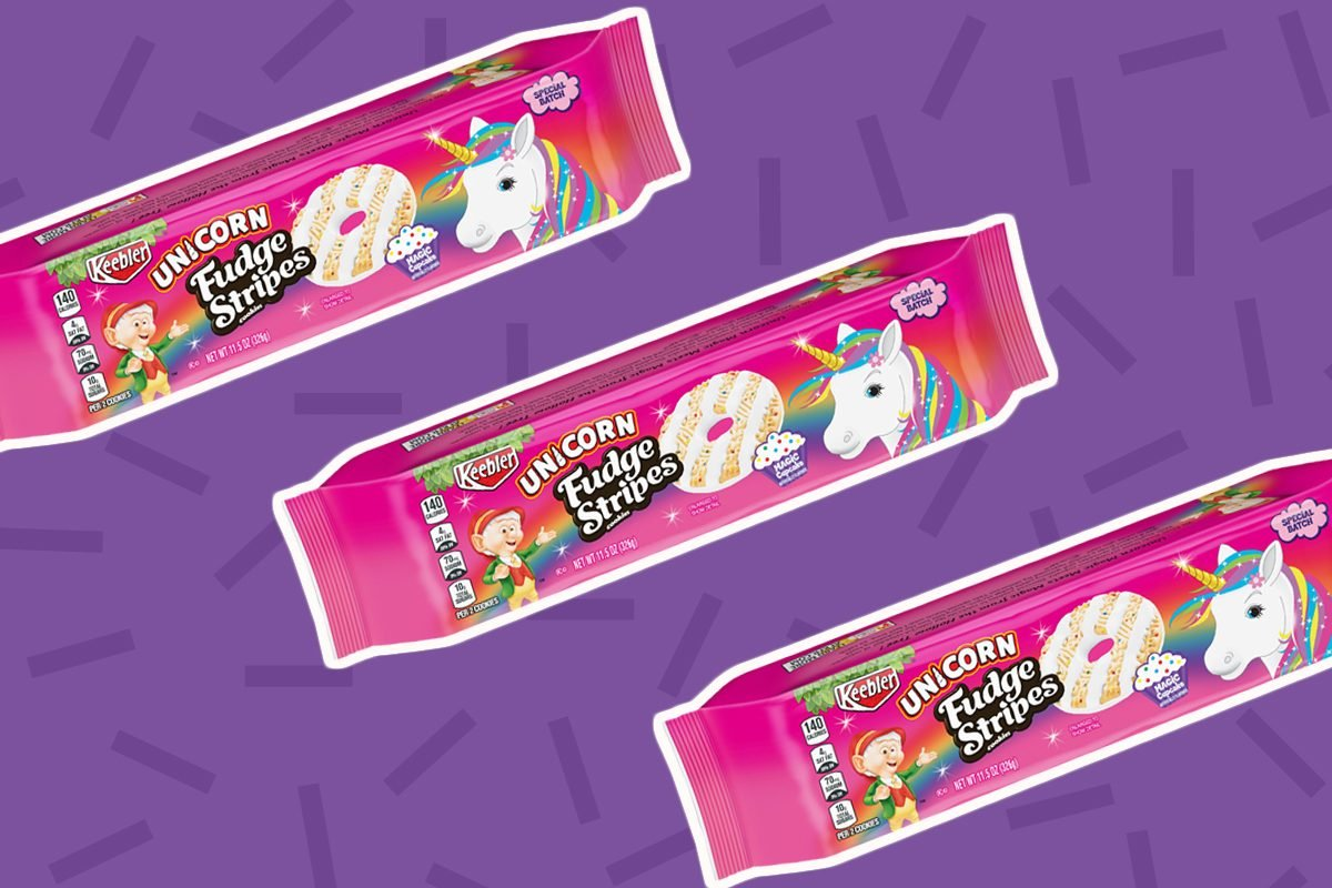 Keeblers New Unicorn Cookies Taste Like Magic Cupcake