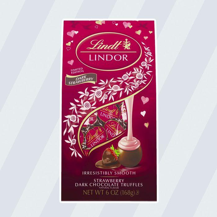 Lindor Strawberry Dark Chocolate Truffles