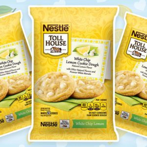 Nestlé Is Bringing Back White Chip Lemon Cookie Dough for Valentine's Day!