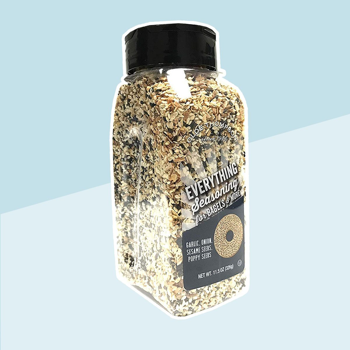 Olde Thompson Everything Seasoning For Bagels & More 11.5 OZ | 1 Pack Olde Thompson Everything Seasoning For Bagels & More 11.5 OZ | 1 Pack Tell us if something is incorrect Olde Thompson Everything Seasoning For Bagels & More