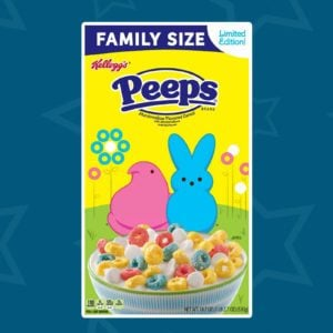 Kellogg's Just Released a New Peeps Cereal That You Can Find at Target