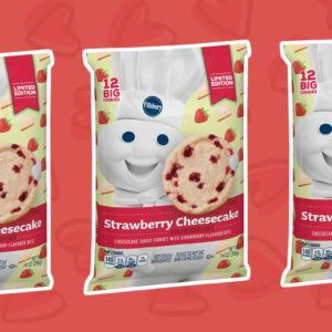 Pillsbury Strawberry Cheesecake Cookies Are All We're Craving Right Now